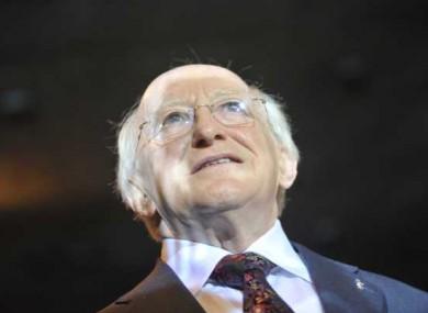 Michael D Higgins - the emigrants' choice.