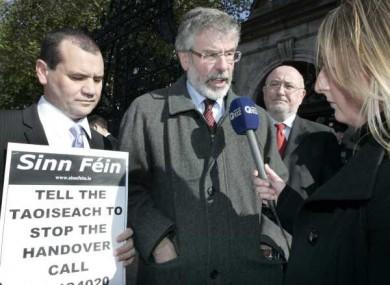 Sinn Féin has started a