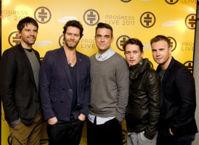 Five become four? Jason, Howard, Robbie, Mark and Gary.