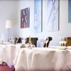 Thornton's in the Fitzwilliam Hotel on St Stephen's Green in Dublin is run by Kevin and Muriel Thornton.  Image from Irish Fireside on Flikr