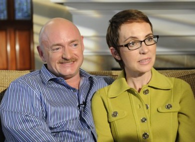 Mark Kelly and Congresswoman Giffords on ABC's 20/20.