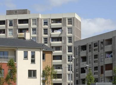 Part of the Ballymun regeneration scheme