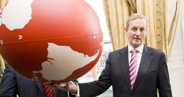 Caption competition: Whole world in his hands?