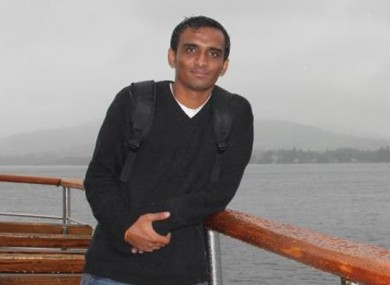 Anuj Bidve, who was shot dead in Manchester.