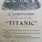 This is one of the vast selection of street ballads held by the NLI. The illustration is probably the only block of a ship that the printer had and is inappropriate to represent what was the most modern ship in the world at the time.