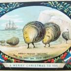 From Arthur Conan's Christmas scrapbook.