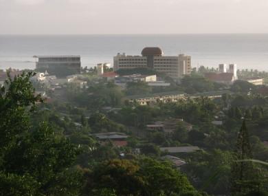 Samoa's capital Apia