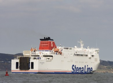 File photo of a Stena Line ferry
