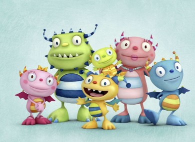 The Happy Hugglemonsters - coming to a Disney channel near you in 2012