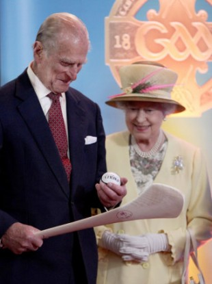 Prince Philip in Ireland in May