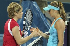 Clijsters hopeful of being fit for the Australian Open despite injury scare