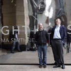 Directors of Element Pictures Andrew Lowe, right, and Ed Guiney. Pic: Mark Stedman/Photocall Ireland