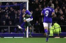 Watch: Everton goalkeeper Tim Howard scored a goal tonight…