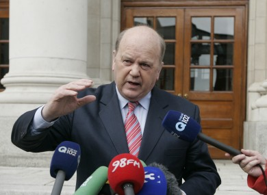 Although Michael Noonan announced new mortgage interest relief rates last month, with effect from January 1, they won't take legal effect until April.