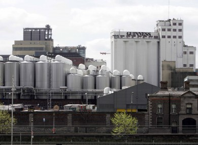 The Guinness brewery at St James's Gate will be given a €153m investment - but plants in Kilkenny and Dundalk are to close.