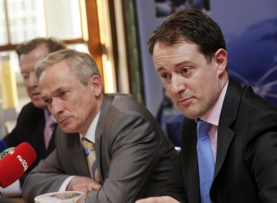 Richard Bruton plans to sign legislation being prepared by his junior innovation minister, Sean Sherlock.