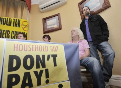 The campaign against Household Tax has the support of TDs Mick Wallace and Luke Flanagan