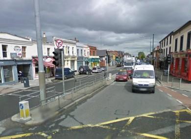 Terenure village in south Dublin