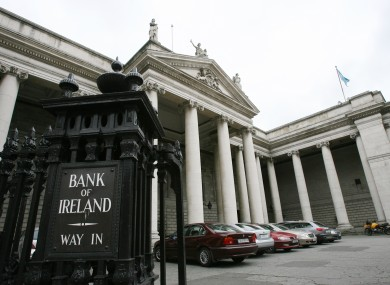 Bank of Ireland on College Green, Dublin (File photo)