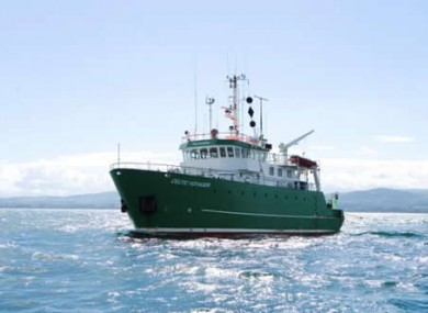 The RV Celtic Voyager was deployed to find the missing M3 buoy, but found no sign of it - because it was heading to Devon.
