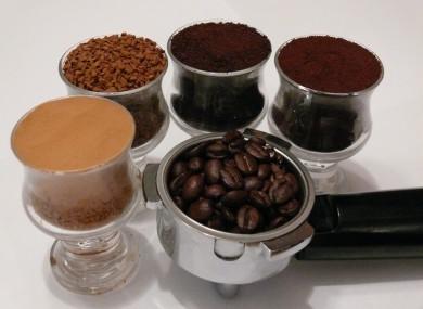Coffee, five ways