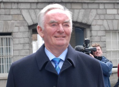 Pádraig 'Pee' Flynn at the Mahon Tribunal in 2008.