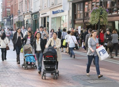 Grafton Street's brickwork will be replaced by granite slabs