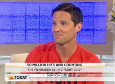 Jason Russell on MSNBC Today recently.