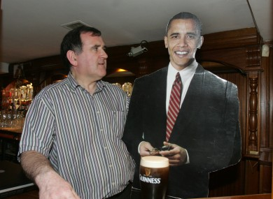 The cardboard cut out won't be needed now as Hayes will have met the man himself twice!