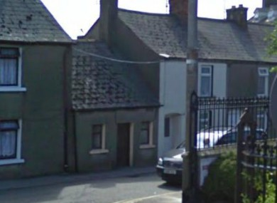 The remains were discovered at this house on Lower John Street.