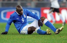 Life's not fair: Balo still upset by Prandelli snub