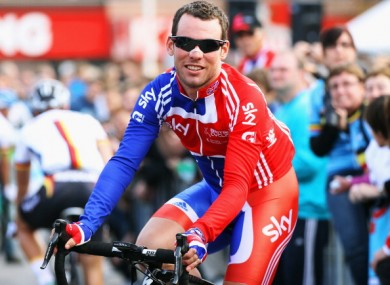 Mark Cavendish.