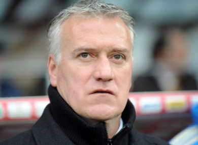 Didier Deschamps: concentrating on current side Marseille.