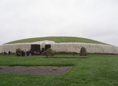 Newgrange at Brú na Bóinne in Meath