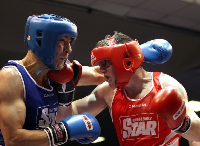 Egan lost out to Joe Ward at the Elite Finals in February
