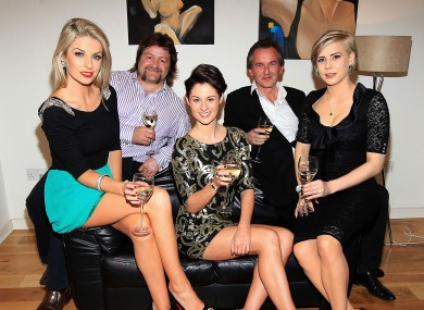 Pippa O'Connor, Shane Byrne, Madeline Mulqueen, Michael O'Doherty and Holly Sweeney