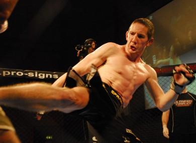 "Damien ""The Rage"" Rooney in action."