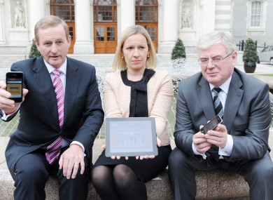 The government of Enda Kenny and Eamon Gilmore is losing support in advance of the referendum on the Fiscal Compact.