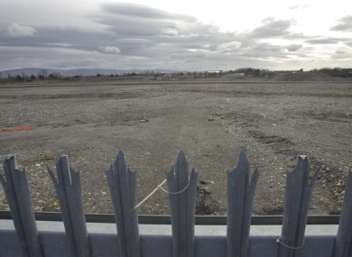 March 2010 photo of the Glass Bottle site in Ringsend.