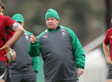 Ireland coach Declan Kidney believes there is a 15% step-up needed for international matches.