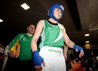 Katie Taylor's first fight will be on Monday, 14 May.