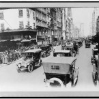 City traffic on 5th Avenue, Easter (8 March) 1920. (Library of Congress, Prints & Photographs Division)
