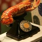 Salvador Dali's and Edward James' 'Lobster Telephone' (AP Photo/Lefteris Pitarakis)