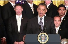 Updated: Obama salutes his 'cousin' Robbie Keane