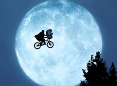 ET first filmed back in 1982