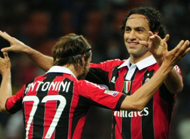 Nesta has made over 200 appearances for Milan.