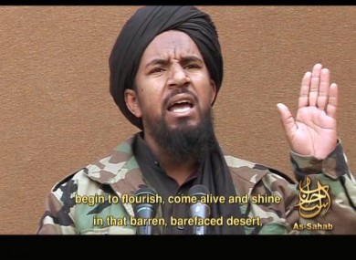Abu Yahia al-Libi in a video posted on a website frequented by Islamist militants and provided via the IntelCenter