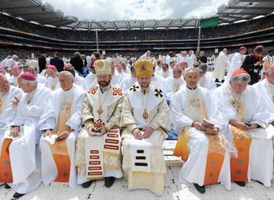 Too many MCs, not enough mics? The Eucharistic Congress via Roy Keane.