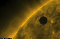 VIDEO: Venus passes in front of the sun for the last time before 2117