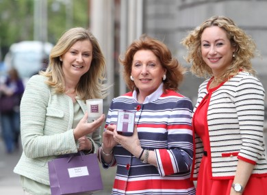 Minister Kathleen Lynch T.D (centre) at the launch of plans for National Women's Enterprise Day, with Alison Banton from Brooke & Shoals Fragrances (left) and Fiona Leahy, County and City Enterprise Boards